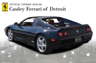 Used 1998 Ferrari F355 GTS Used 1998 Ferrari F355 GTS for sale Sold at Cauley Ferrari in West Bloomfield MI 8