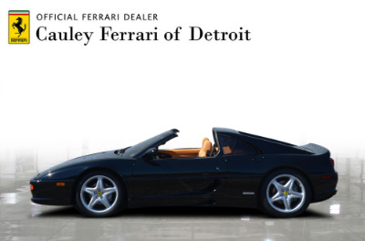 Used 1998 Ferrari F355 GTS Used 1998 Ferrari F355 GTS for sale Sold at Cauley Ferrari in West Bloomfield MI 9