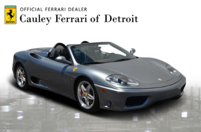 Used 2004 Ferrari 360 Spider Used 2004 Ferrari 360 Spider for sale Sold at Cauley Ferrari in West Bloomfield MI 4