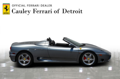 Used 2004 Ferrari 360 Spider Used 2004 Ferrari 360 Spider for sale Sold at Cauley Ferrari in West Bloomfield MI 5