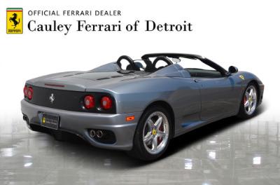 Used 2004 Ferrari 360 Spider Used 2004 Ferrari 360 Spider for sale Sold at Cauley Ferrari in West Bloomfield MI 6