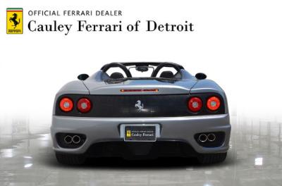 Used 2004 Ferrari 360 Spider Used 2004 Ferrari 360 Spider for sale Sold at Cauley Ferrari in West Bloomfield MI 7