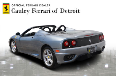 Used 2004 Ferrari 360 Spider Used 2004 Ferrari 360 Spider for sale Sold at Cauley Ferrari in West Bloomfield MI 8