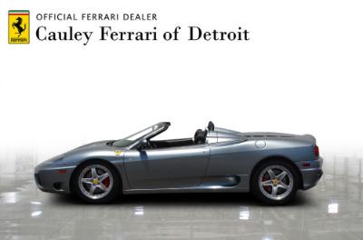 Used 2004 Ferrari 360 Spider Used 2004 Ferrari 360 Spider for sale Sold at Cauley Ferrari in West Bloomfield MI 9