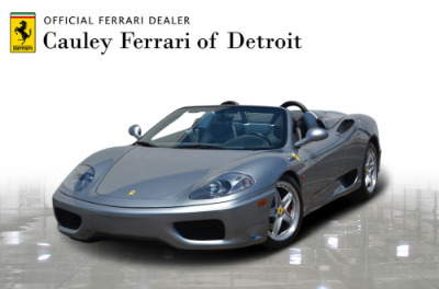 Used 2004 Ferrari 360 Spider Used 2004 Ferrari 360 Spider for sale Sold at Cauley Ferrari in West Bloomfield MI 1