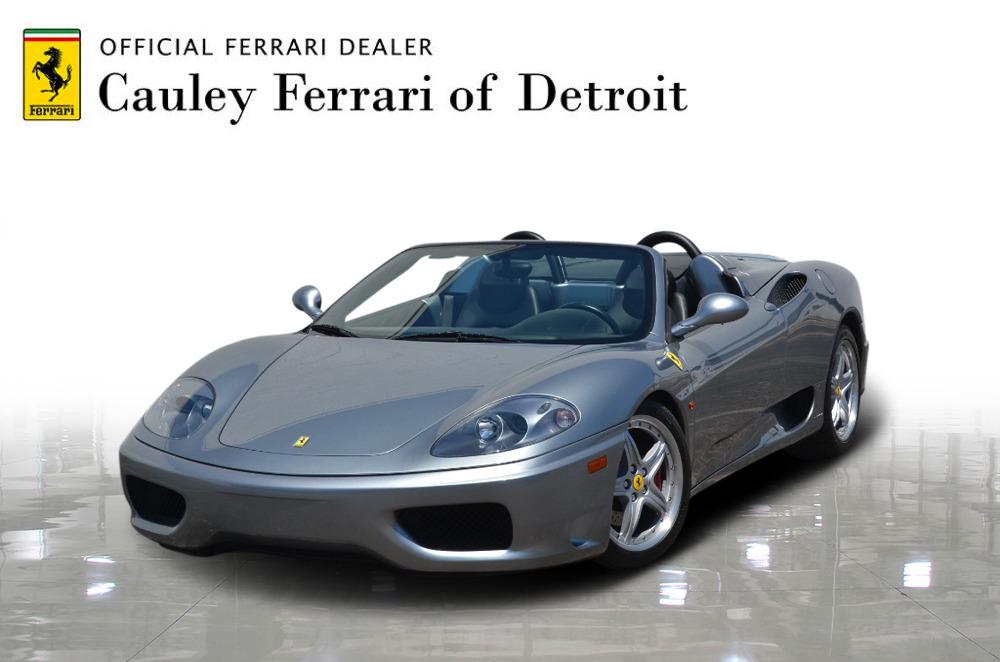 Used 2004 Ferrari 360 Spider