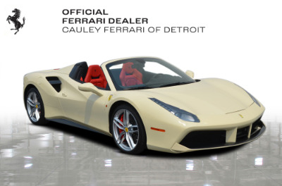 Used 2018 Ferrari 488 Spider Used 2018 Ferrari 488 Spider for sale $329,900 at Cauley Ferrari in West Bloomfield MI 4