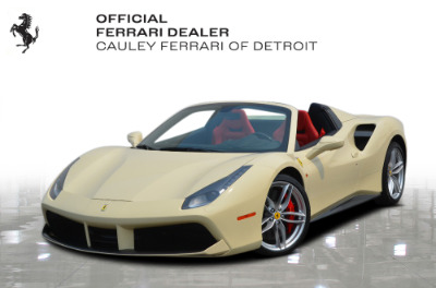 Used 2018 Ferrari 488 Spider Used 2018 Ferrari 488 Spider for sale $329,900 at Cauley Ferrari in West Bloomfield MI 1