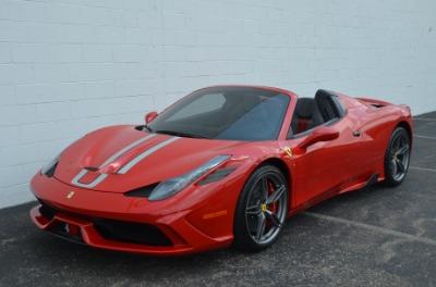 Used 2015 Ferrari 458 Speciale A Used 2015 Ferrari 458 Speciale A for sale $724,900 at Cauley Ferrari in West Bloomfield MI 10
