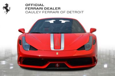 Used 2015 Ferrari 458 Speciale A Used 2015 Ferrari 458 Speciale A for sale $724,900 at Cauley Ferrari in West Bloomfield MI 3