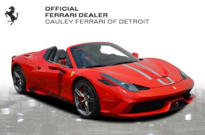 Used 2015 Ferrari 458 Speciale A Used 2015 Ferrari 458 Speciale A for sale $724,900 at Cauley Ferrari in West Bloomfield MI 4