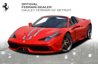 Used 2015 Ferrari 458 Speciale A Used 2015 Ferrari 458 Speciale A for sale $724,900 at Cauley Ferrari in West Bloomfield MI 1