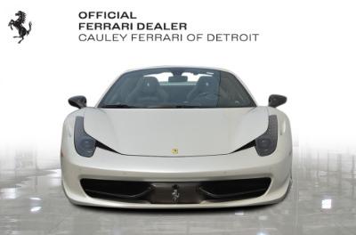 Used 2013 Ferrari 458 Spider Used 2013 Ferrari 458 Spider for sale $299,900 at Cauley Ferrari in West Bloomfield MI 3