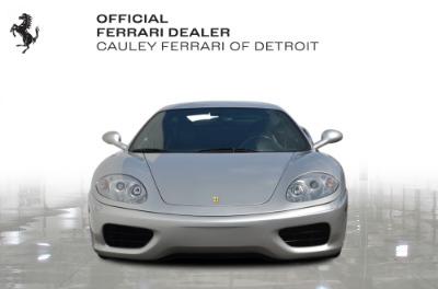 Used 1999 Ferrari 360 Modena Used 1999 Ferrari 360 Modena for sale Sold at Cauley Ferrari in West Bloomfield MI 3