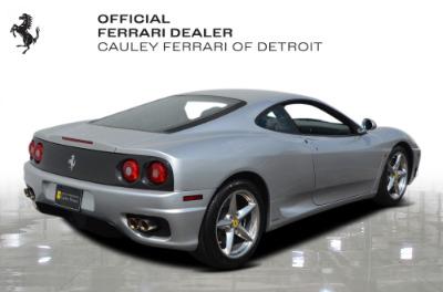 Used 1999 Ferrari 360 Modena Used 1999 Ferrari 360 Modena for sale Sold at Cauley Ferrari in West Bloomfield MI 6