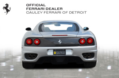 Used 1999 Ferrari 360 Modena Used 1999 Ferrari 360 Modena for sale Sold at Cauley Ferrari in West Bloomfield MI 7