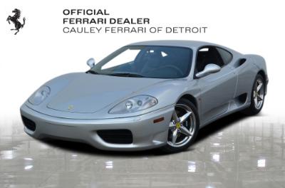 Used 1999 Ferrari 360 Modena Used 1999 Ferrari 360 Modena for sale Sold at Cauley Ferrari in West Bloomfield MI 1