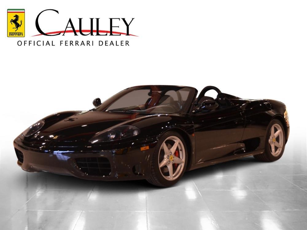Used 2004 Ferrari 360 Spider F1