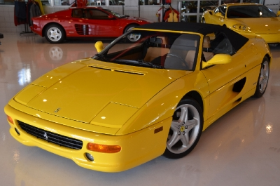 Used 1995 Ferrari F355 Spider Used 1995 Ferrari F355 Spider for sale Sold at Cauley Ferrari in West Bloomfield MI 3