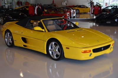 Used 1995 Ferrari F355 Spider Used 1995 Ferrari F355 Spider for sale Sold at Cauley Ferrari in West Bloomfield MI 5