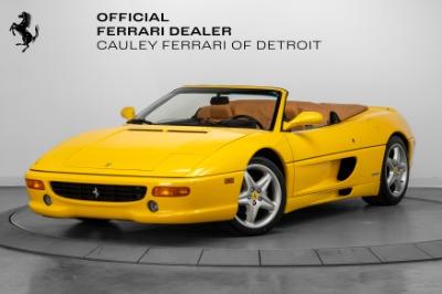 Used 1995 Ferrari F355 Spider Used 1995 Ferrari F355 Spider for sale Sold at Cauley Ferrari in West Bloomfield MI 1