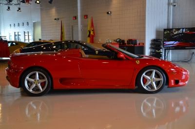 Used 2004 Ferrari 360 Spider F1 Used 2004 Ferrari 360 Spider F1 for sale Sold at Cauley Ferrari in West Bloomfield MI 5