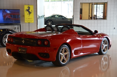 Used 2004 Ferrari 360 Spider F1 Used 2004 Ferrari 360 Spider F1 for sale Sold at Cauley Ferrari in West Bloomfield MI 6
