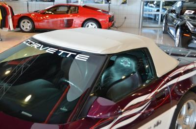 Used 1995 Chevrolet Corvette Pace Car Used 1995 Chevrolet Corvette Pace Car for sale Sold at Cauley Ferrari in West Bloomfield MI 11