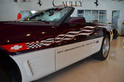 Used 1995 Chevrolet Corvette Pace Car Used 1995 Chevrolet Corvette Pace Car for sale Sold at Cauley Ferrari in West Bloomfield MI 14