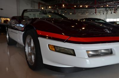 Used 1995 Chevrolet Corvette Pace Car Used 1995 Chevrolet Corvette Pace Car for sale Sold at Cauley Ferrari in West Bloomfield MI 15