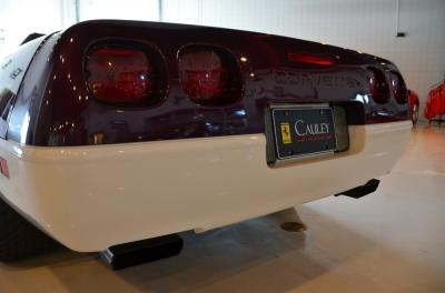 Used 1995 Chevrolet Corvette Pace Car Used 1995 Chevrolet Corvette Pace Car for sale Sold at Cauley Ferrari in West Bloomfield MI 21