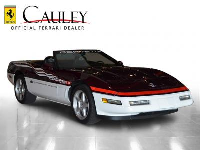 Used 1995 Chevrolet Corvette Pace Car Used 1995 Chevrolet Corvette Pace Car for sale Sold at Cauley Ferrari in West Bloomfield MI 4