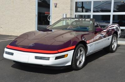 Used 1995 Chevrolet Corvette Pace Car Used 1995 Chevrolet Corvette Pace Car for sale Sold at Cauley Ferrari in West Bloomfield MI 44