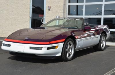 Used 1995 Chevrolet Corvette Pace Car Used 1995 Chevrolet Corvette Pace Car for sale Sold at Cauley Ferrari in West Bloomfield MI 45