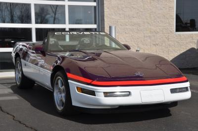 Used 1995 Chevrolet Corvette Pace Car Used 1995 Chevrolet Corvette Pace Car for sale Sold at Cauley Ferrari in West Bloomfield MI 46