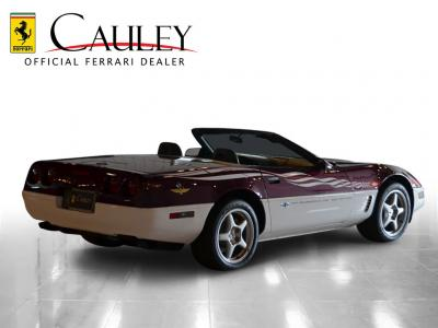 Used 1995 Chevrolet Corvette Pace Car Used 1995 Chevrolet Corvette Pace Car for sale Sold at Cauley Ferrari in West Bloomfield MI 6