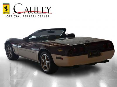 Used 1995 Chevrolet Corvette Pace Car Used 1995 Chevrolet Corvette Pace Car for sale Sold at Cauley Ferrari in West Bloomfield MI 8