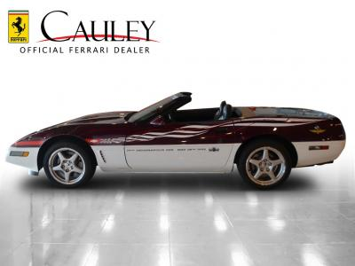Used 1995 Chevrolet Corvette Pace Car Used 1995 Chevrolet Corvette Pace Car for sale Sold at Cauley Ferrari in West Bloomfield MI 9