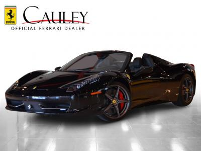 Used 2012 Ferrari 458 Spider Used 2012 Ferrari 458 Spider for sale Sold at Cauley Ferrari in West Bloomfield MI 1