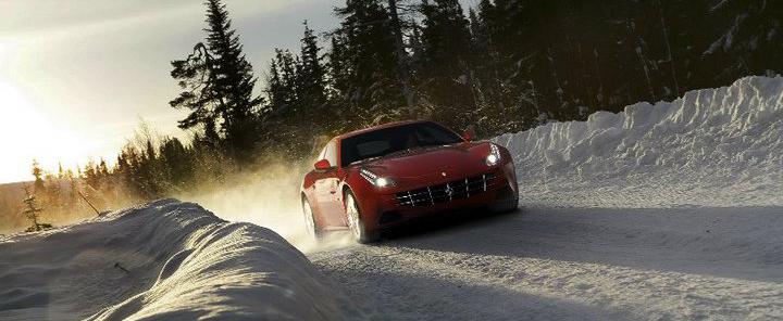 Ferrari FF Winter Driving Experience