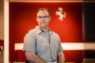 Garret Salter – Certified Ferrari Technician