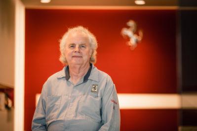 Greg Young – Certified Ferrari Technician