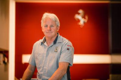 Tim Hyland – Certified Master Ferrari Technician