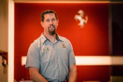 Tim Skardoutos – Certified Master Ferrari Technician